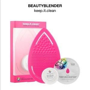 NWT⚡️Beauty blender keep it clean kit